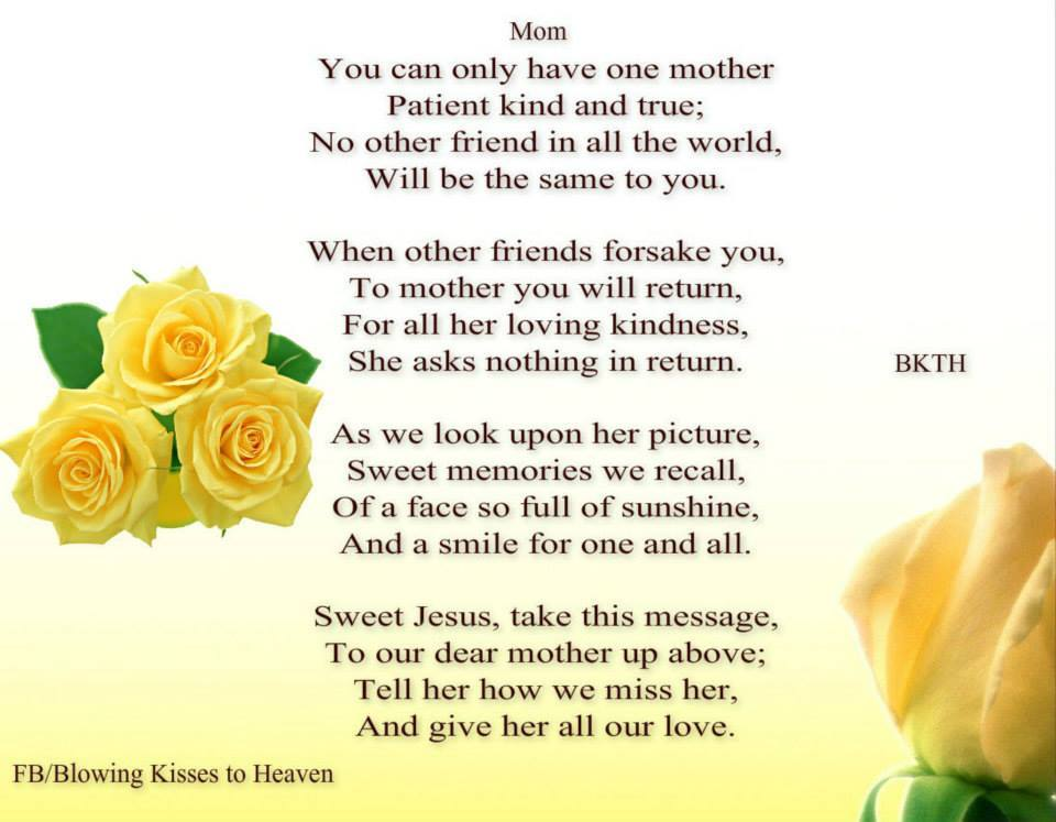 Quotes About Family 39 Missing My Mom In Heaven Quotes This