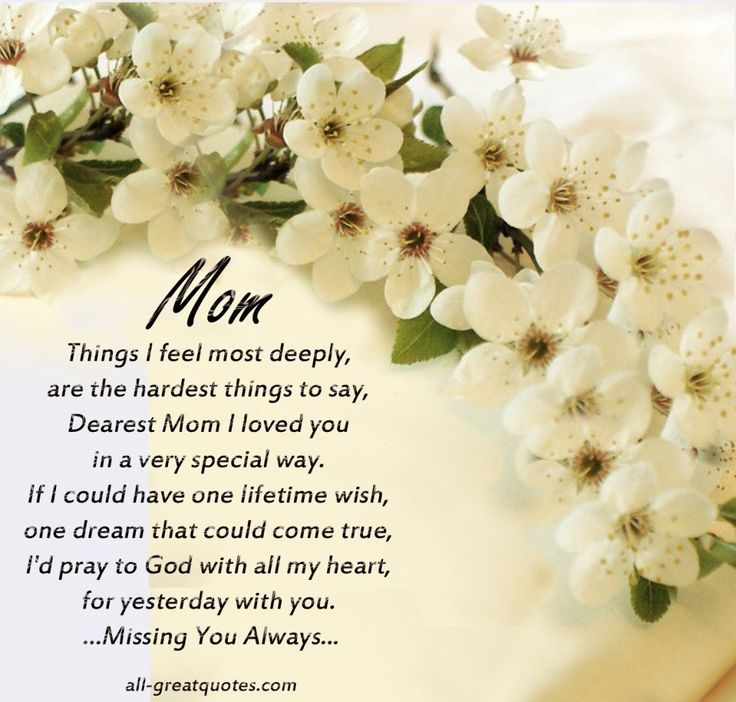 25 Best Ideas About Mother Death Quotes On Pinterest Missing 78511