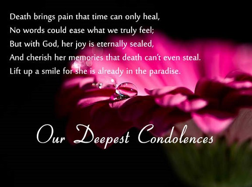 31 Inspirational Sympathy Quotes For Loss With Images Good 958319