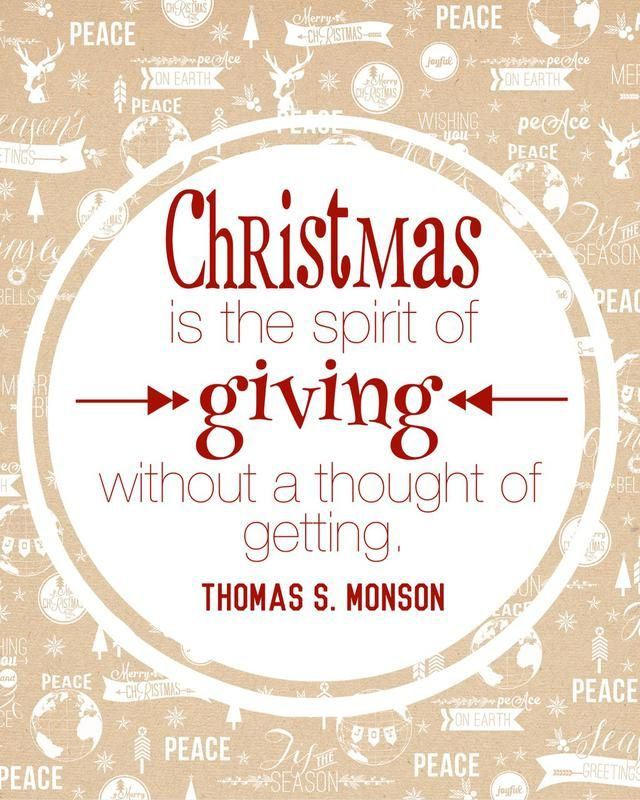 Christmas Quotes 19 Inspiring Christmas Quotes From President Thomas