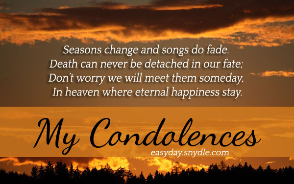 Deepest Condolences Messages For Cards And Flowers Easyday 73261