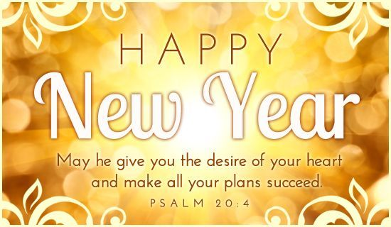 Happy New Year Words & Quotes : New Year Relegious Wishes From Bible ...