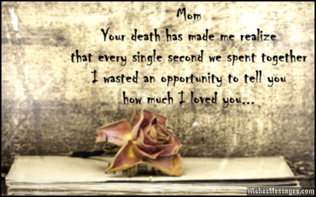 I Miss You Messages For Mom After Death Quotes To Remember A 588211