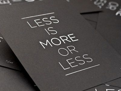 Love Quotes Less Is More More Or Less Quotes Boxes You Number