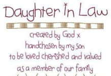 QUOTES ABOUT FAMILY 27 Future Daughter In Law Quotes