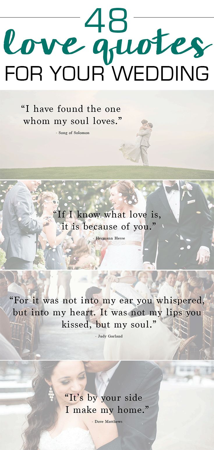 Free Love Quotes Quotes About Wedding  48 Love Quotes You Can't Live Withoutplus