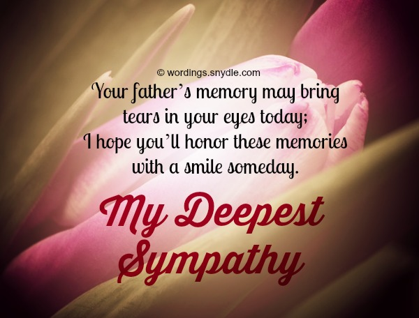 Sympathy Messages For Loss Of Father Wordings And Messages 474813