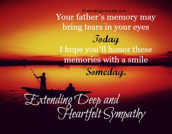 Sympathy Messages For Loss Of Father Wordings And Messages 81844