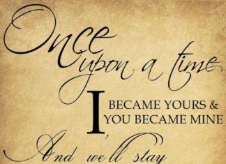 Wedding Quote Once Upon A Time The Mercedes Benz