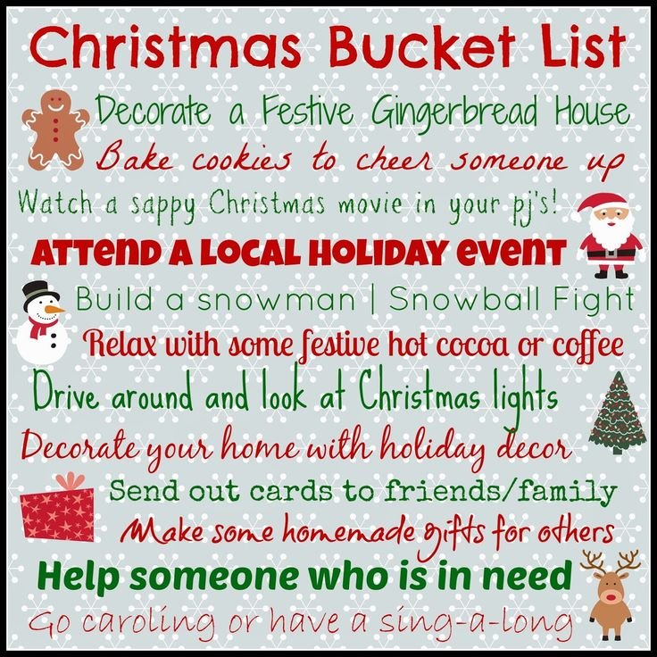 Christmas Quotes : Christmas Bucket List Pictures, Photos, and ...