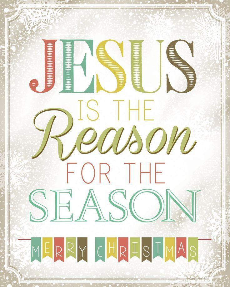 description jesus is the reason for the season