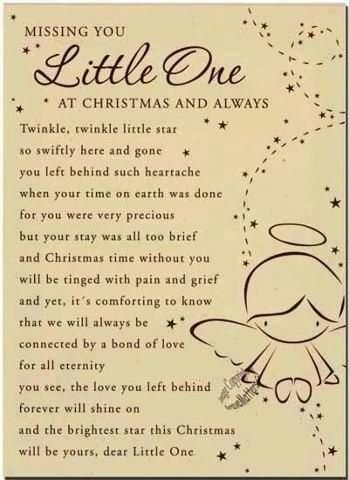 Christmas Quotes Missing You Little One Miss You Family Quotes