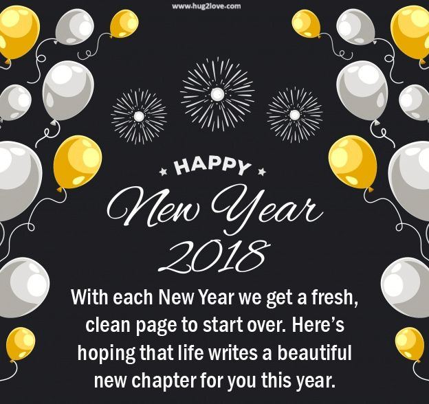 as the quote says description cute happy new year 2018 quotes messages greeting
