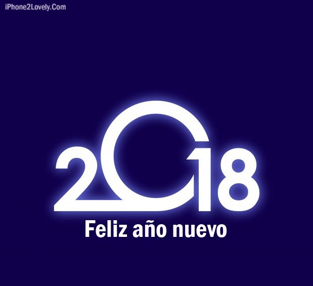 as the quote says description happy new year 2018 in spanish