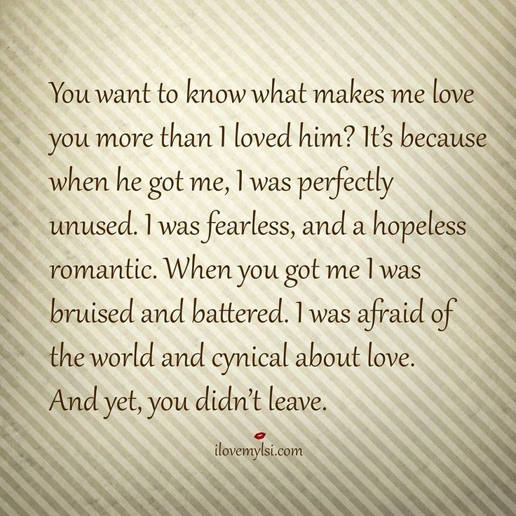 Love Soulmate Quotes You Want To Know What Makes Me Love You
