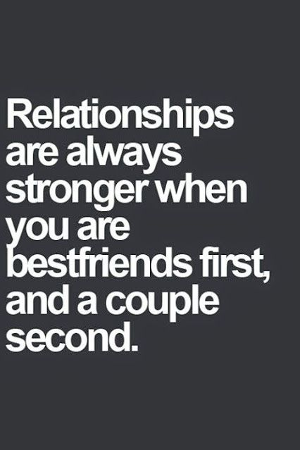 Soulmate Quotes : What Makes Relationships Work Is Being Friends