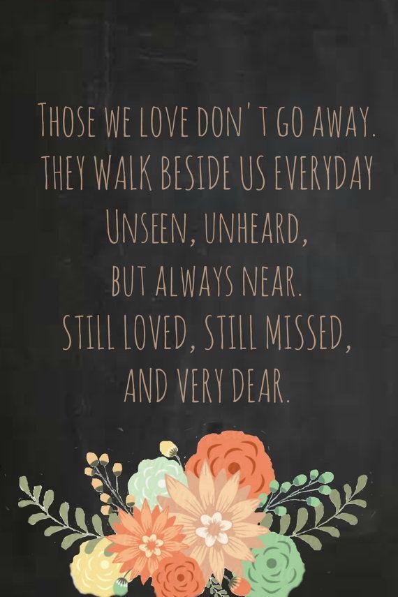 Description. Remembering Loved Ones ...