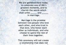 Short Wedding Ceremony Script   Invitationjpg.com