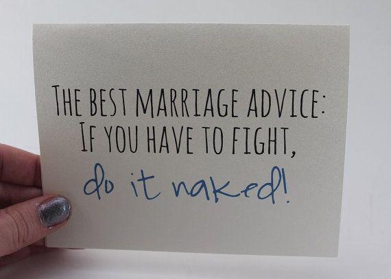 Description Wedding Card Marriage Advice