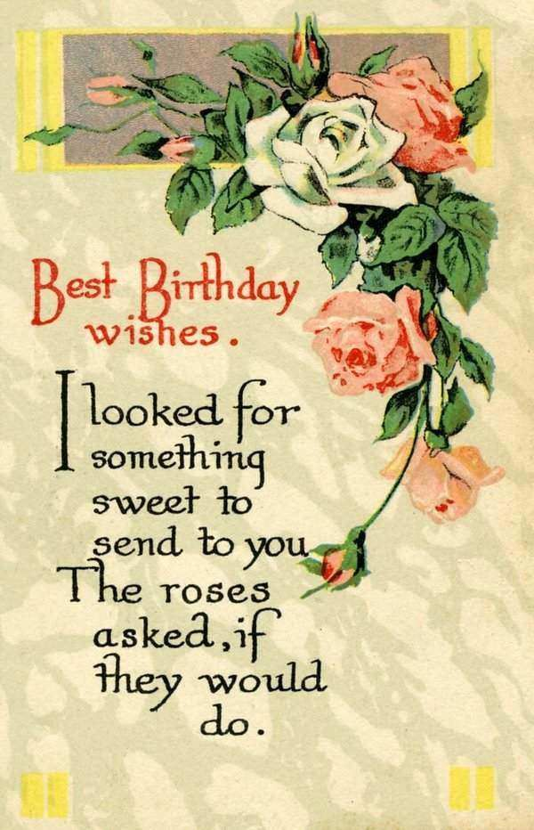 As The Quote Says Description Best Birthday Wishes Messages For Friend