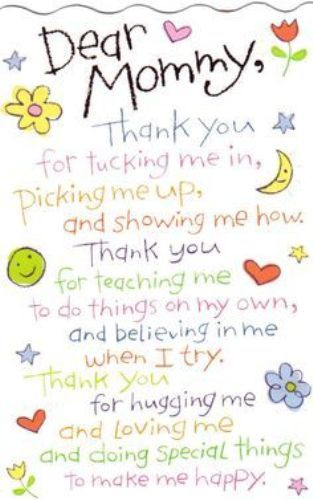 Happy Mothers Day Quotes From Son Daughter Funny Mothers Day