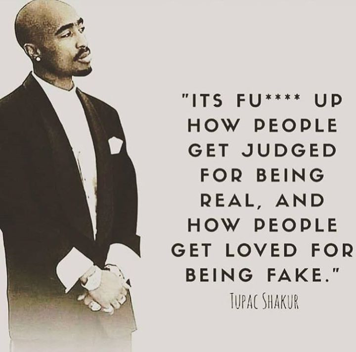 Positive Quotes : How people get judged for being real..   Quotes