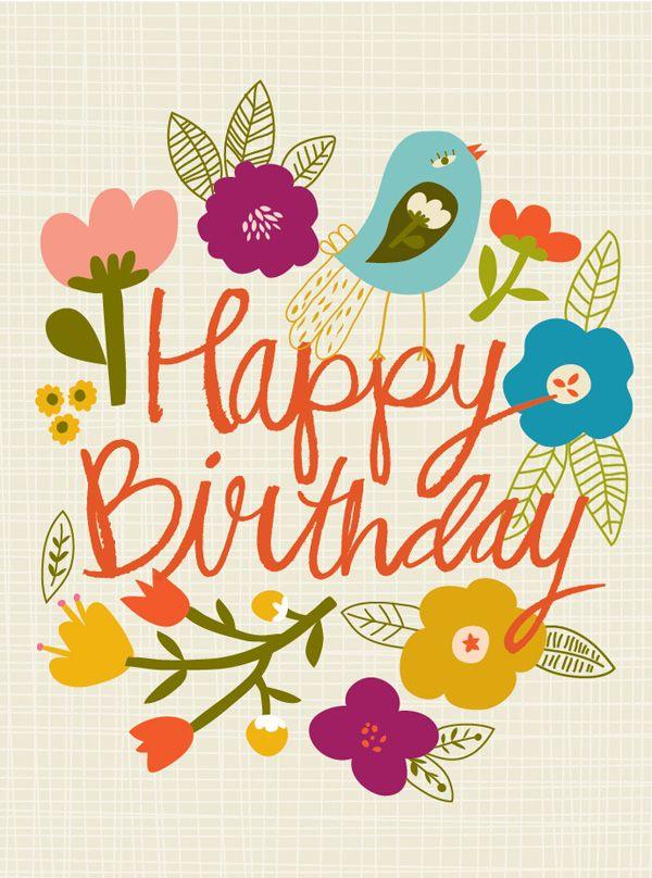 Best Birthday Quotes Happy Birthday Flowers Birds Quotes Boxes