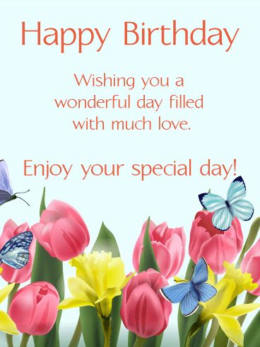 Best Birthday Quotes Send Free Happy Spring Card To Loved