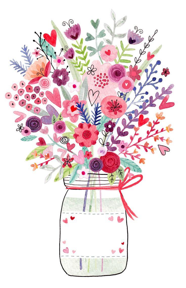 Best Birthday Quotes Mason Jar Floral Jpg 800 1 236 Pixels