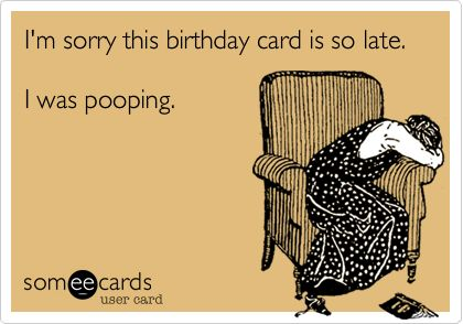 As The Quote Says Description Funny Birthday Ecard