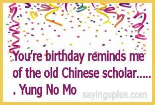 Happy Birthday Quotes HahahaNo Mo Yung But Still Kickin