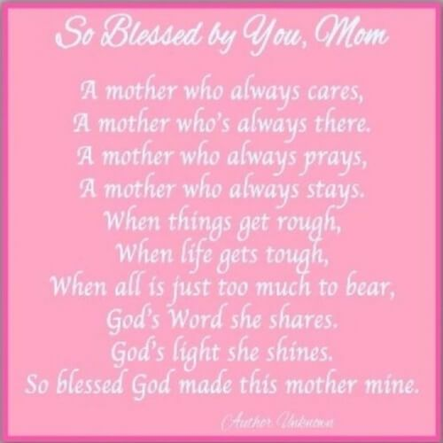 Happy Mothers Day Quotes From Son Daughter Happy Mothers Day