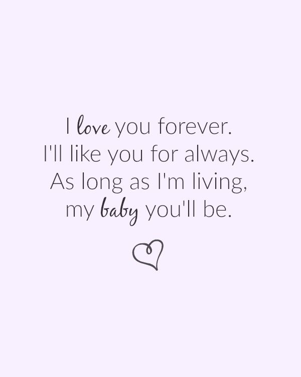 Happy Mothers Day Quotes I Love You Forever Ill Like You For Extraordinary I Love You Forever I Like You For Always Quote
