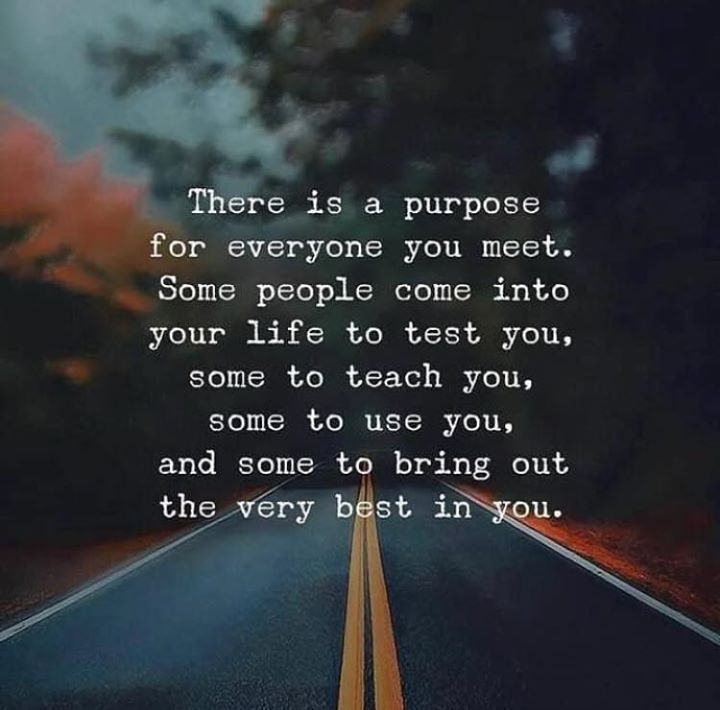 Positive Quotes There Is A Purpose For Everyone You Meet