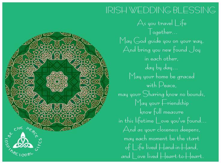 Quotes About Wedding Irish Wedding Blessingas You Travel Life