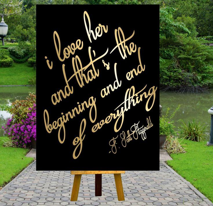 Quotes about wedding wedding quotes printable i love her gatsby quotation image junglespirit Choice Image