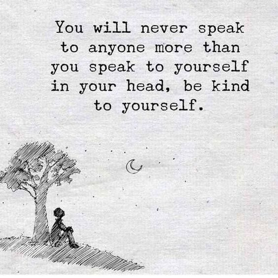 Positive Quotes : Be kind to yourself..   Quotes Boxes | You