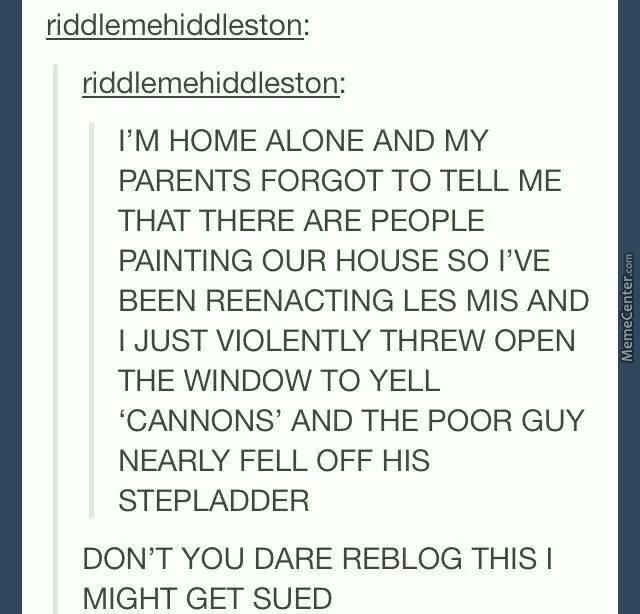 Most Funny Quotes Les Miserables Tumblr Funny Google Search