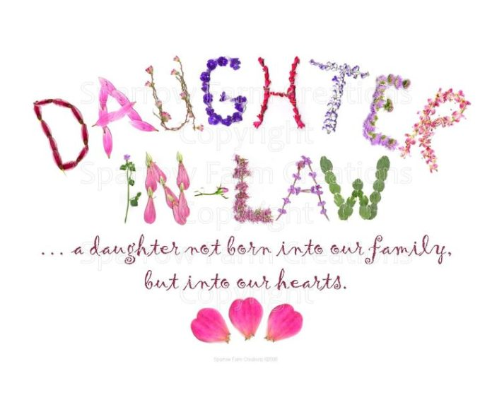 Best Birthday Quotes A Daughter In Law Is Quotes Google Search