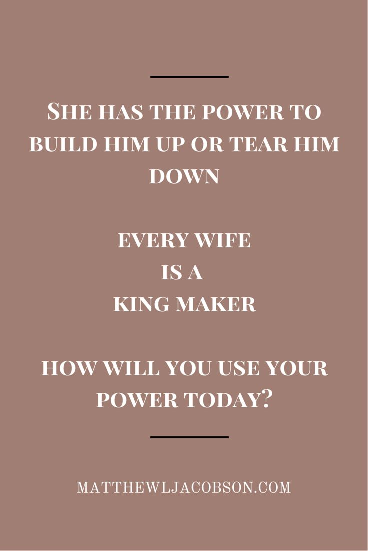 Love Quotes Your Words Are Powerful In The Life Of Your Husband