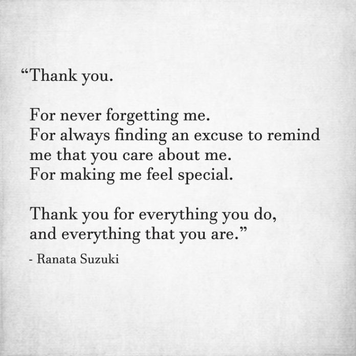 """Never Finding Love Quotes: Love Quotes : """"Thank You. For Never Forgetting Me. For"""