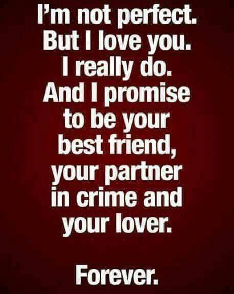 Love Quotes So True I Am Not Perfect But I Will Love You Like You