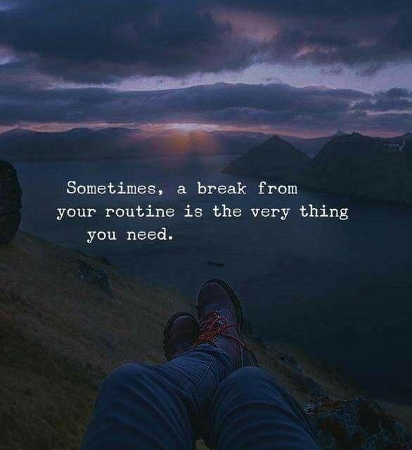 Positive Quotes Break From Your Routine Quotes Boxes You