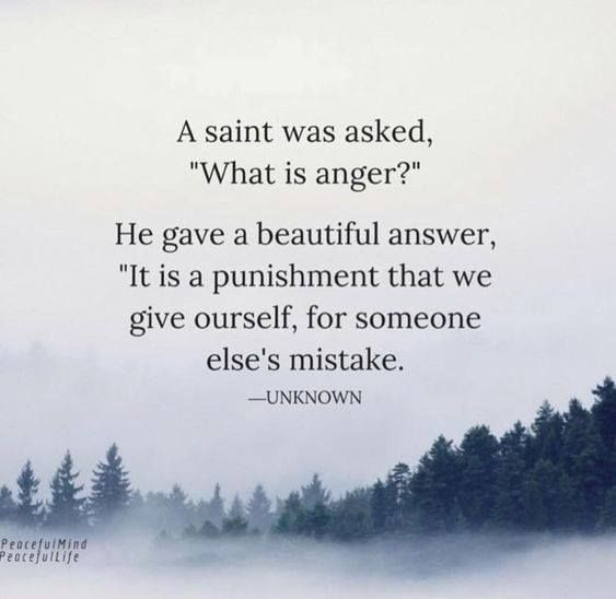 Positive Quotes A Saint Was Asked What Is Anger Quotes Boxes