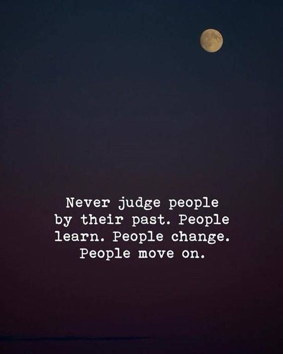 Positive Quotes Never Judge People By Their Past Quotes Boxes