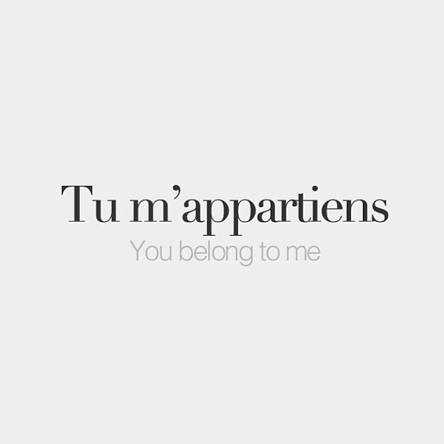 Quotes About Life Love And Lost Tu Mappartiens You Belong To
