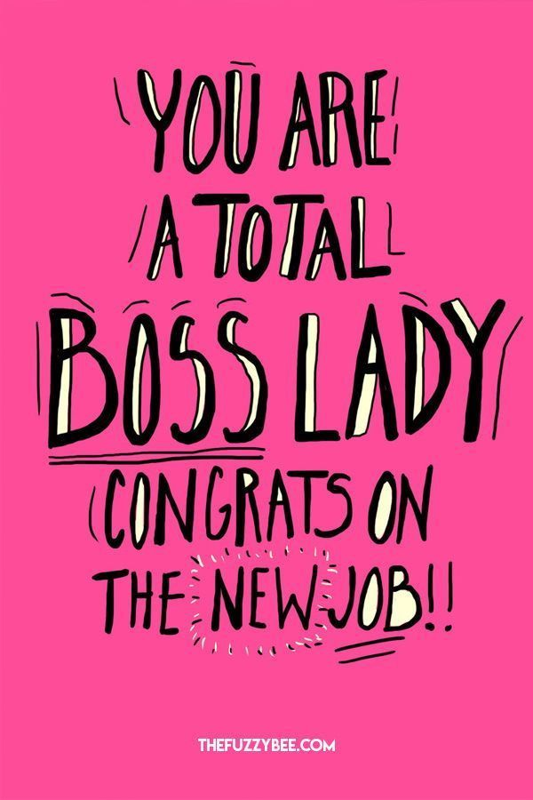 Moving On Quotes Boss Lady New Job Card Quotes Boxes You